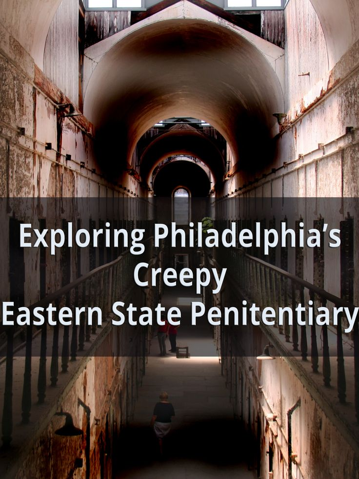 Exploring Philadelphia's Creepy Eastern State Penitentiary - http://uncoveringpa.com/eastern-state-penitentiary