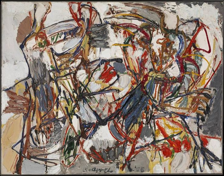 Amorous Dance (Danse amoureuse), Karel Appel