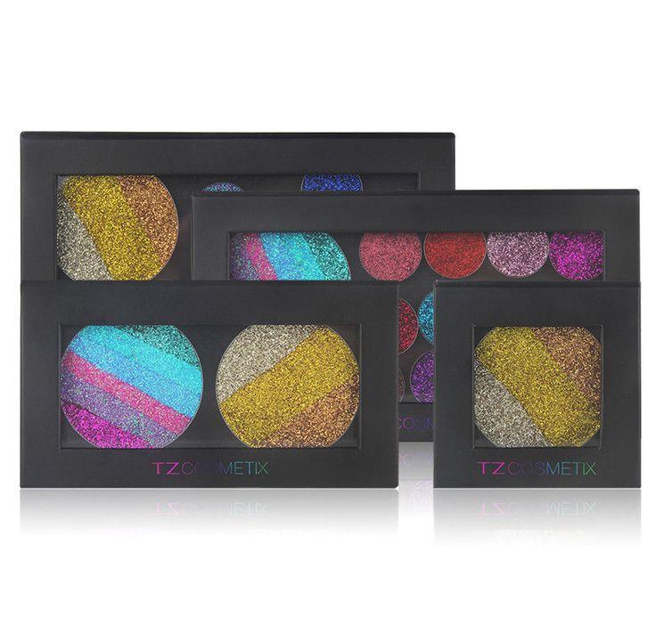 TZ Empty Magnetic Eyeshadow Makeup Palette Cosmetics DIY Storage Set Tool #TZCOSMETIX