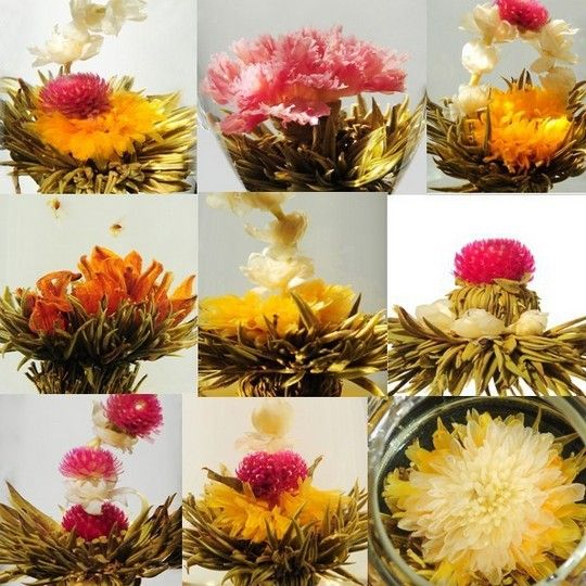 Image result for flowering tea