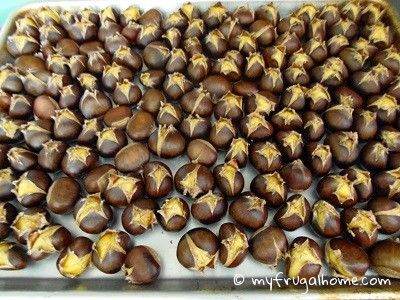 How to Roast Chestnuts in the Oven. http://www.annabelchaffer.com/