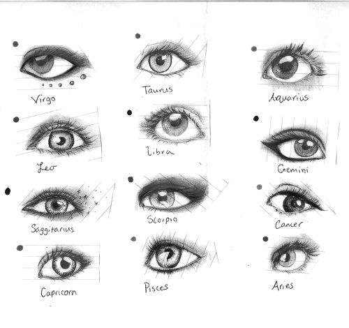 Interesting....this probably would be the eye I'd pick for me, and it's my sign!! Haha. Weird. Go Virgos! =D