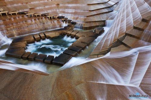 Существующие необычные водные сооружения мира. Архитектура вокруг и около воды. 50 фото, 20 арх-объектов.