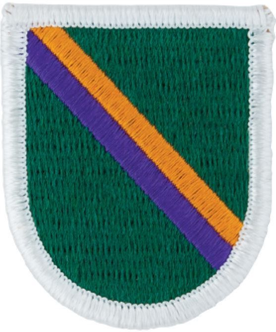 Civil Affairs & Psychological Operations Command Beret Flash (airborne)