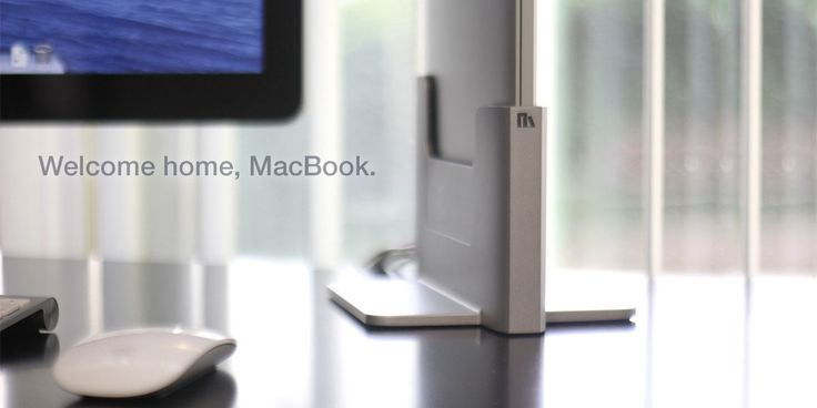 Henge Docks - Vertical Docking Station. Designed specifically for your MacBook Pro with Retina Display.
