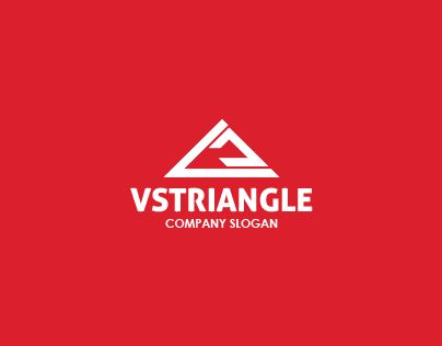 """Check out new work on my @Behance portfolio: """"VS Triangle Logo"""" http://on.be.net/1EygEi0"""
