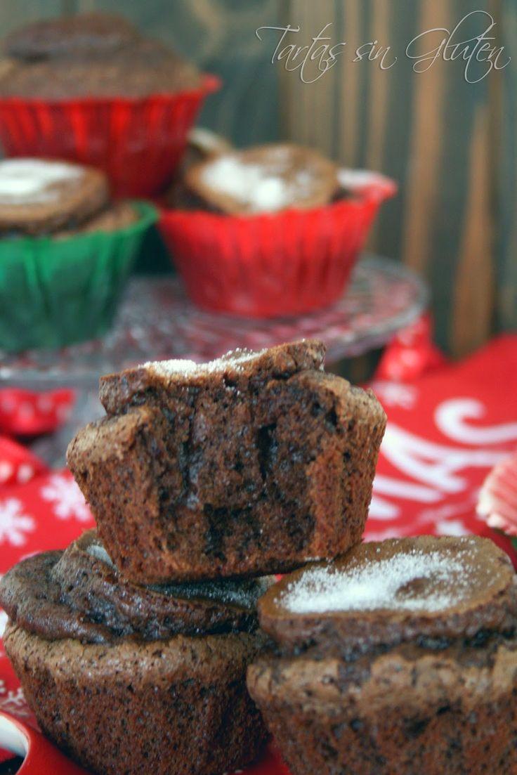 Tartas sin Gluten .....365 dias sin gluten: Las mejores Magdalenas de Chocolate