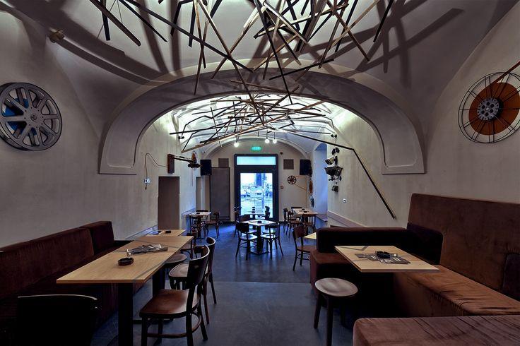 Casa TIFF interior in Cluj Napoca, Romania