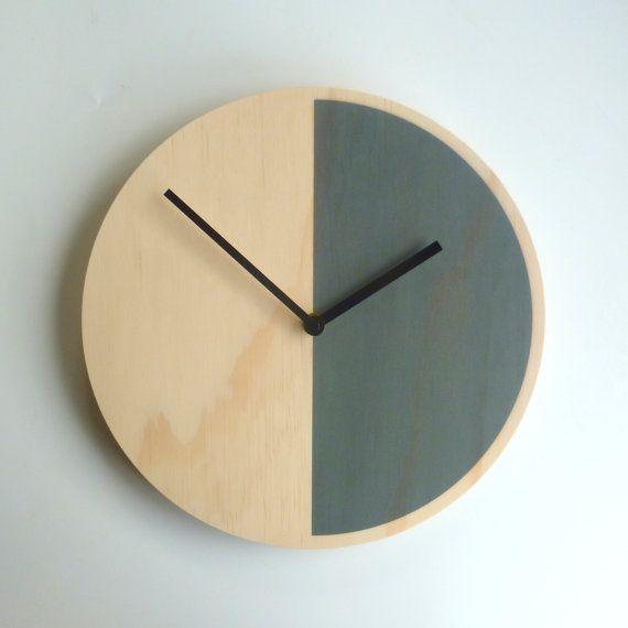 Objectify Demi Grey Wall Clock - Medium Size