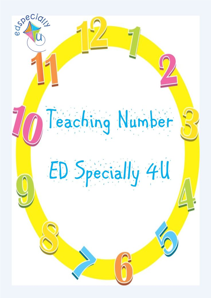 On the blog: how we teach number at ED Specially 4U