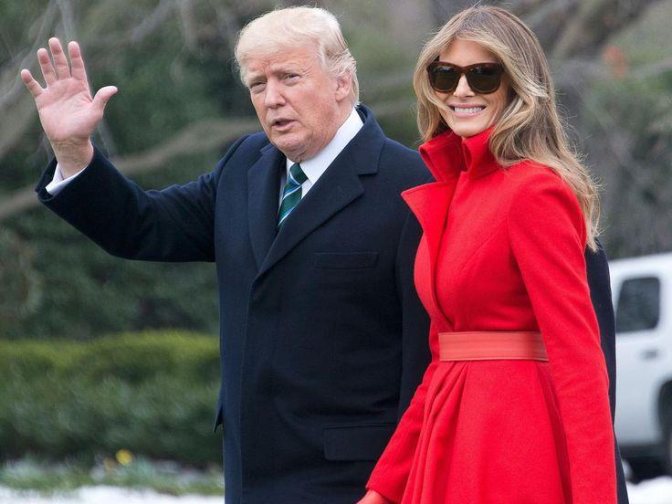 Melania et Donald Trump font-ils chambre à part ? La first lady réagit ! Il y a quelques jours, un magazine américain affirmait que Melania Trump et Donald Trump feraient chambre à part. La first lady a démenti cette all... http://www.closermag.fr/article/melania-trump-et-donald-trump-font-ils-chambre-a-part-la-first-lady-reagit-711295