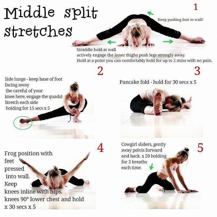 Sueno Creer Tener Exito Posiciones De Yoga Para Principiantes In 2020 Yoga Lernen Streckubungen Ballett Workout