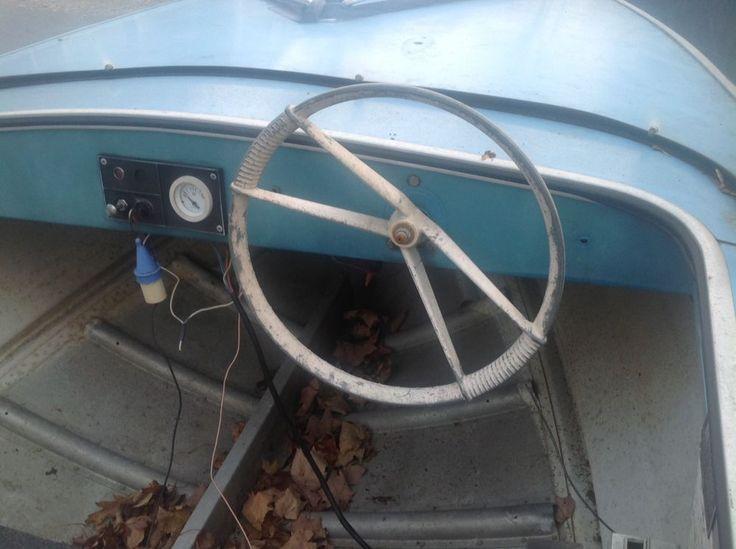 1968 Starcraft boat model is Jet star Steering Wheel ...