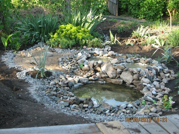 DIY Garden Ponds from Old Tires | iCreativeIdeas.com Like Us on Facebook ==> https://www.facebook.com/icreativeideas
