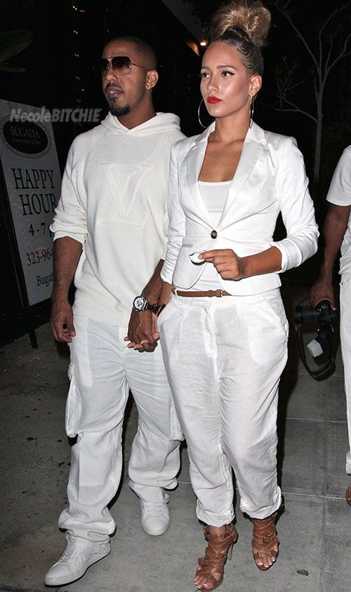 white outfits for all white parties | ... of four years, Marlina, were spotted leaving a white party