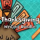 Thanksgiving writing activities that are sure to inspire your students to get creative, practice authentic writing, and express their gratitude.  ^^^^^^^^^^^^^^^^^^^^^^^^^^^^^^^^^^^^^^^^^^^^^^^^^^^^^^^^^^^^^^^  You are saving 25% by purchasing these two Thanksgiving writing products together.  ^^^^^^^^^^^^^^^^^^^^^^^^^^^^^^^^^^^^^^^^^^^^^^^^^^^^^^^^^^^^^^^  The I Am Thankful Journal {gratitude journal} and the Thanksgiving Write a Story will benefit your students in the following areas of…