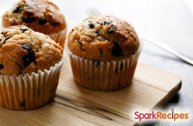 Best Ever Banana Chocolate Chip Muffins via @SparkPeople
