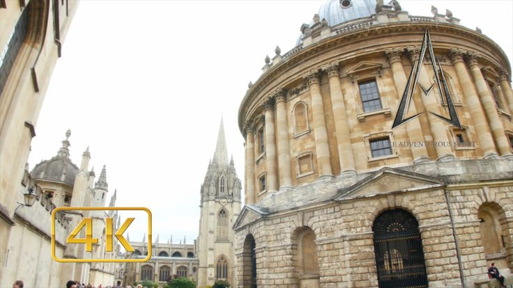OXFORD in 4K | ENGLAND | UNIVERSITY TOWN