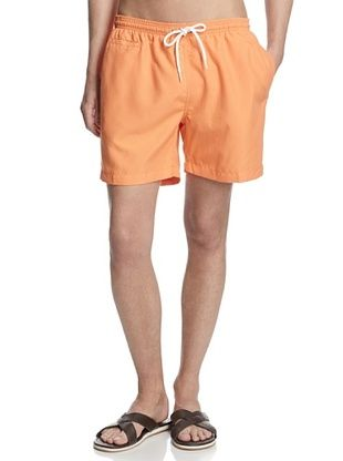60% OFF TRUNKS Men's San-O Swim Shorts (Orange)