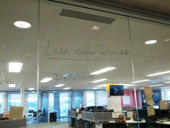 Lean coffee retrospective