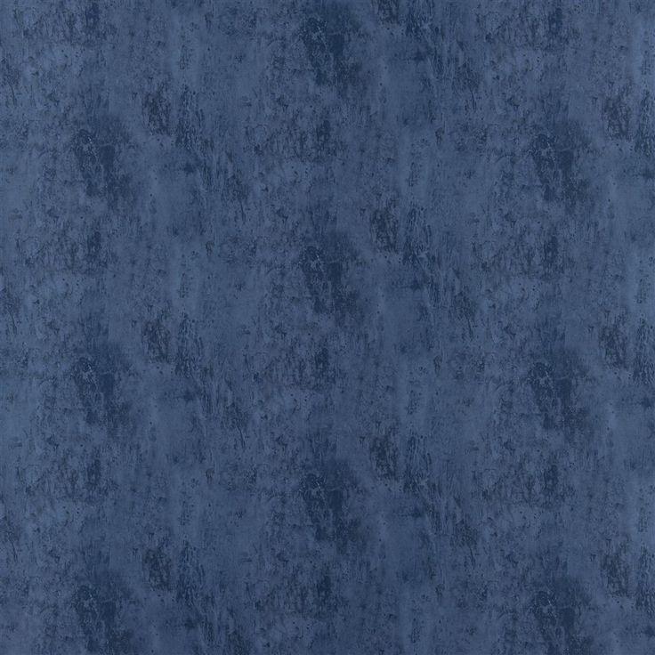 Garda Indigo Fabric | Designers Guild Essentials