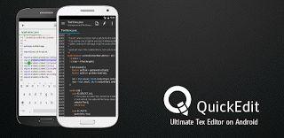 QuickEdit Text Editor Pro v0.9.3 (versión de pago)  Sábado 5 de Diciembre 2015.Por: Yomar Gonzalez | AndroidfastApk  QuickEdit Text Editor Pro v0.9.3 (versión de pago) Requisitos: 3.0 Información general: QuickEdit es editor de textos destacados rápido estable y completo para Android. Está optimizado tanto para teléfono y la tableta!QuickEdit es editor de textos destacados rápido estable y completo para Android. Está optimizado tanto para teléfono y la tableta! caracteristicas:  La…