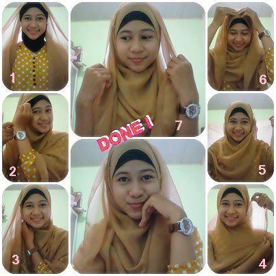segitiga hijab tutorial