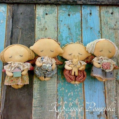 Ароматизированные куклы ручной работы. Ярмарка Мастеров - ручная работа Спящие ангелочки. Handmade.