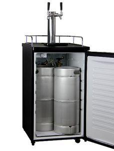 Kegco Kegerator Two Keg Beer Cooler