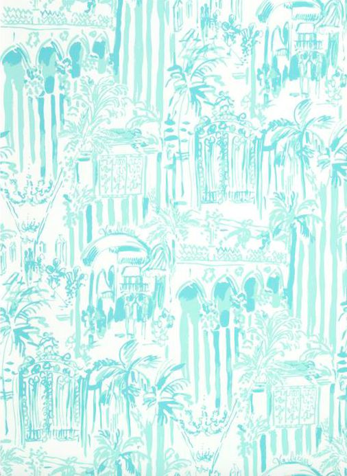Wallpaper Wednesday: Lilly Pulitzer for Lee Jofa | The English Room