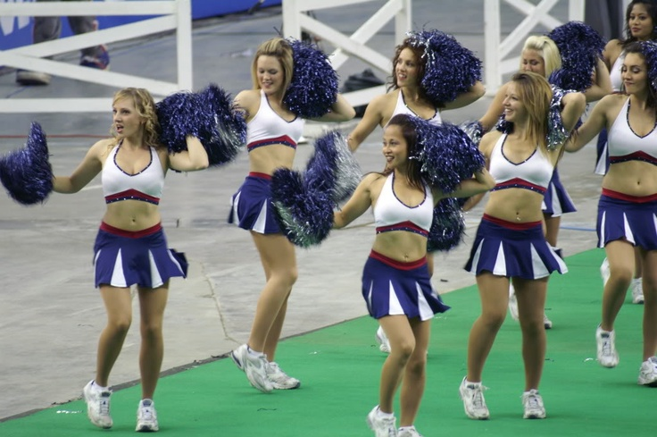 Montreal Alouette Cheerleaders.