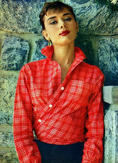 Audrey Hepburn: Cardigans, Fred Astaire, Fashion Icons, Men Shirts, Audrey Hepburn, Style Icons, Audreyhepburn, Plaid Shirts, Funny Faces