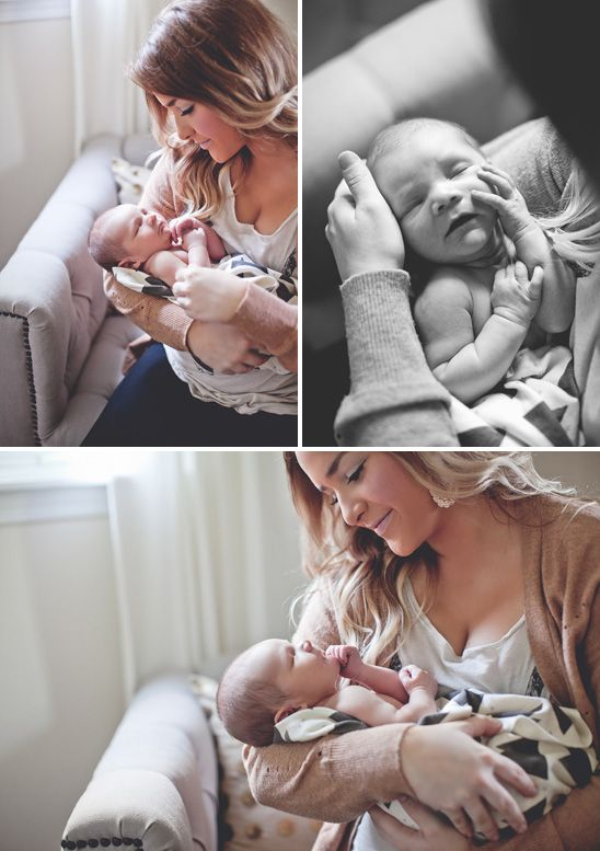 newborn in home lifestyle shoot