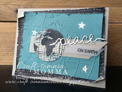 Global Peace ~ Monday Montage ~ by Breelin Renwick | Craft-somnia Momma