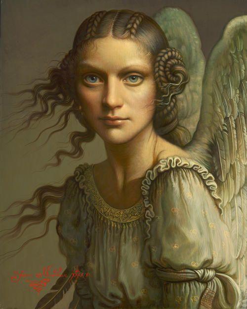 Beauty of angel by Yana Movchan