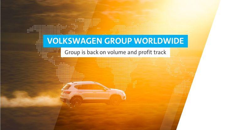 Slide from PowerPoint presentation - Volkswagen. Slajd zrealizowany dla firmy Volkswagen, prezentacja w PowerPoint.