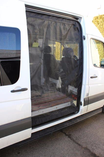 Sprinter Van Slider Door Insect Screen Sprinter Van
