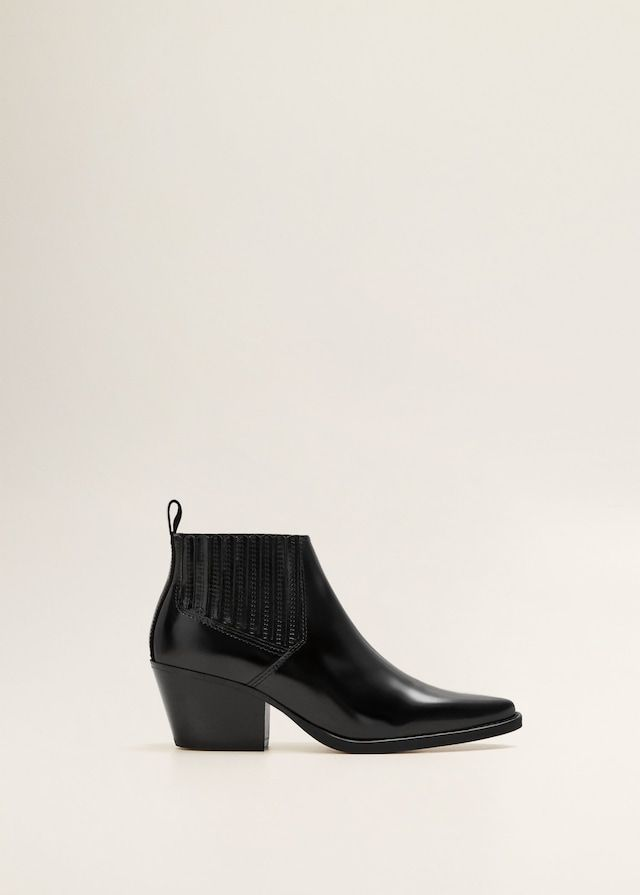 211cc482a Botín piel punta - Zapatos de Mujer