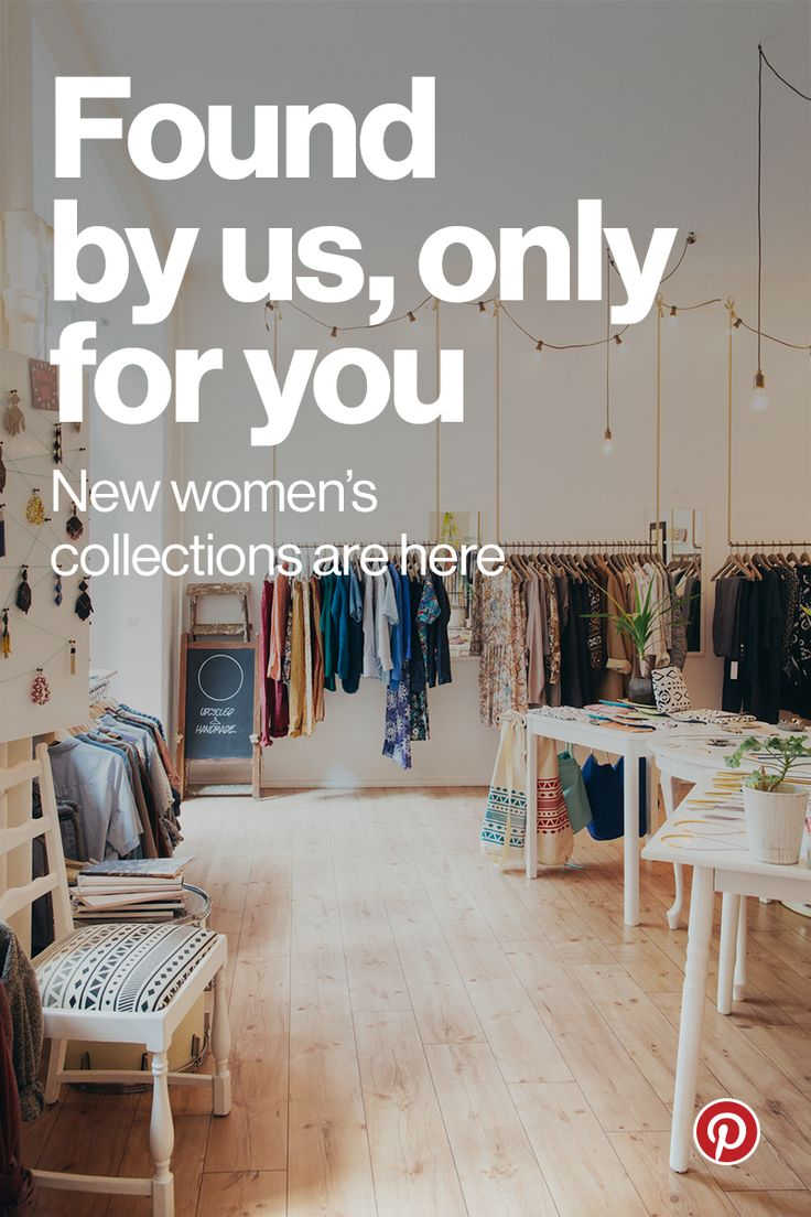 """The Pinterest Shop is the place to find exclusive collections meticulously curated by our in-house style editors. Every week, we bring you the best of the best from hundreds of top brands and unique boutiques. When you see something you love, tap """"Buy it"""" and it's yours in 60 seconds or less, without ever leaving the app. Happy shopping!"""