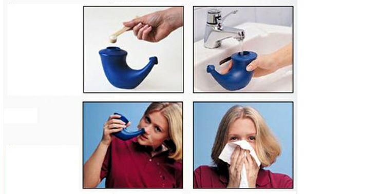 Rhinohorn pour lavage de nez. Le top contre le rhume.