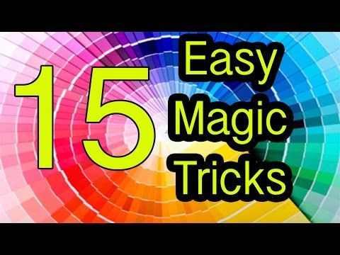 Easy Magic Tricks 15 tricks REVEALED / EXPLAINED - YouTube