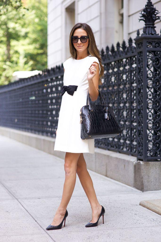 Dress: Kate Spade New York / Bag: Kate Spade New York / Shoes: Christian Louboutin / Sunnies: Bottega Venetta