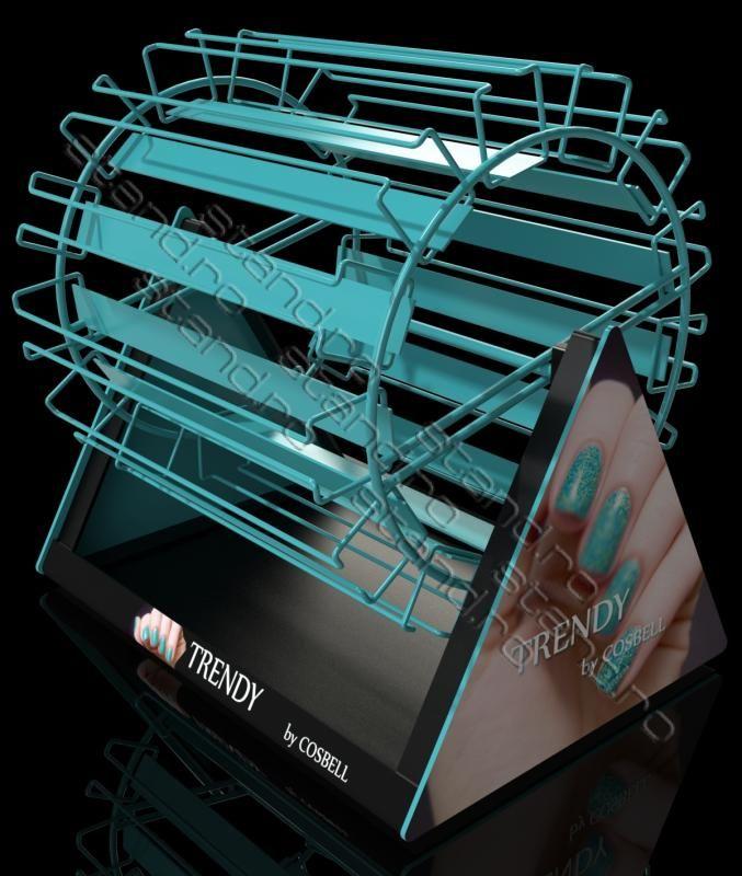 model-1085 stand expozitor rotativ oje