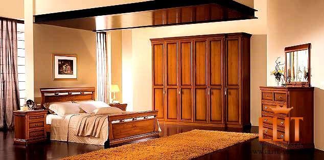 Итальянская спальня Venere Noce Venier