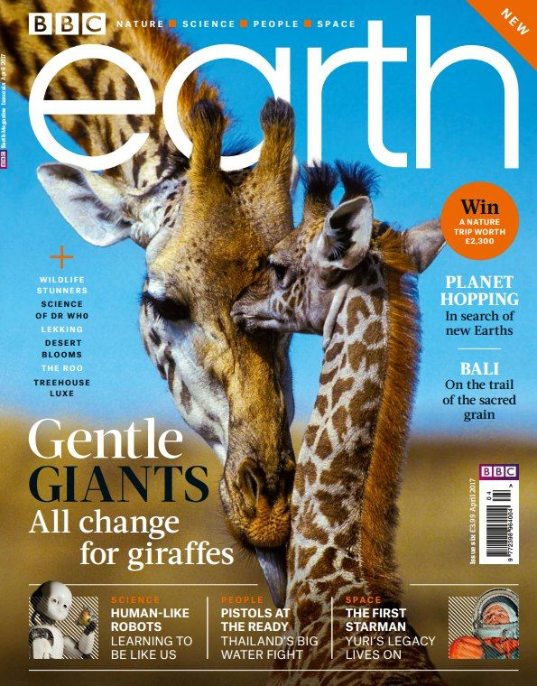 Download PDF BBC Earth UK Issue 6 April 2017 for free and other many