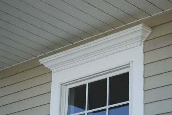 Vinyl Exterior Window Trim : Azek moulding trim pinterest galleries