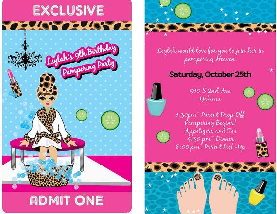 Hey, I found this really awesome Etsy listing at https://www.etsy.com/listing/206451752/vip-spa-pass-invitation-on-lanyardpamper