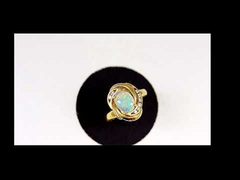 "anniversary gifts opal rings 5407 ""Anniversary Gifts"" are important occasions with a ""opal ring"". - YouTube"