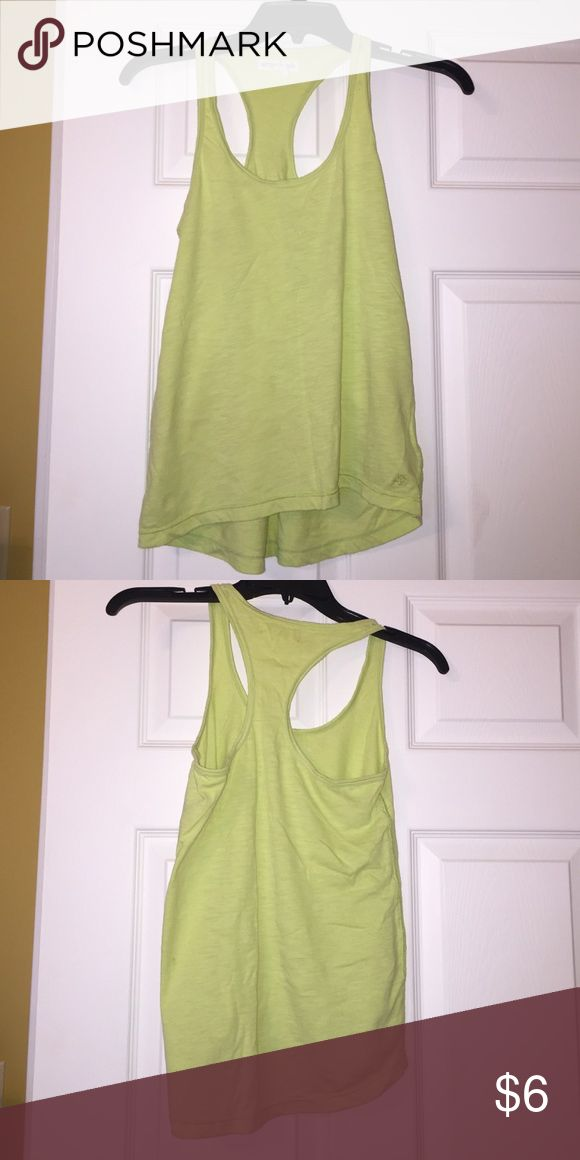 Woman's tank top Cute green razorback tank top Aeropostale Tops Tank Tops