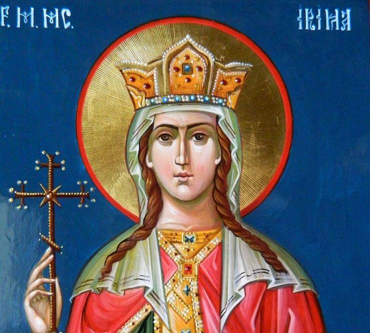 Vineri, 5 mai, este celebrată Sfânta Mare Mucenică Irina. Rugăciunea la Sfânta Irina este cunoscută de credincioși. Căci Sfânta Irina este recunoscută ca fiind ocrotitoarea căsătoriților și a celor care doresc să se căsătorească. Iar Rugăciunea